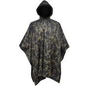 vidaXL Regenponcho leger waterbestendig voor kamperen/wandelen camouflage