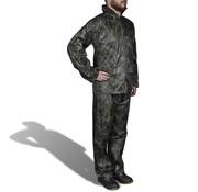 vidaXL Regenpak 2-delig met capuchon (heren / camouflage / maat M)