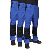 vidaXL Werkbroek Man 3 stuks maat 44/46 (blauw)