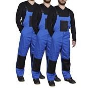 vidaXL Overall Man 3 stuks maat 56/58 (blauw)