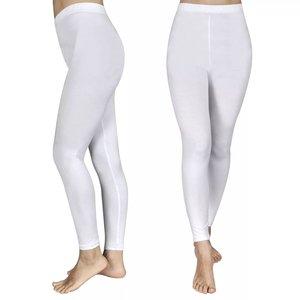 vidaXL Legging voor meisjes maat 110/116 (wit) set van 2