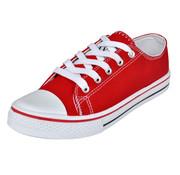 vidaXL Klassieke lage dames sneakers rood (maat 37)