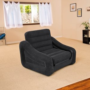 Intex Stoel/bed opblaasbaar 1 persoons 107x221x66 cm 68565NP