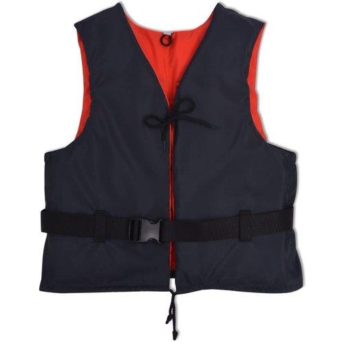 vidaXL Zwemvest 50 N 90+ kg marineblauw