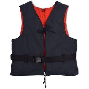 vidaXL Zwemvest 50N 50-70 kg marineblauw