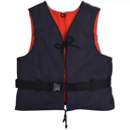 vidaXL Zwemvest 50 N 30-50 kg marineblauw