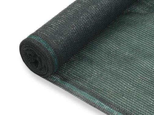 vidaXL Tennisnet 1,4x25 m HDPE groen