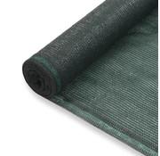 vidaXL Tennisnet 1x25 m HDPE groen