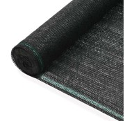 vidaXL Tennisnet 1,2x50 m HDPE zwart