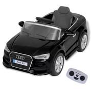 vidaXL Elektrische speelgoedauto met afstandsbediening Audi A3 zwart