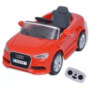 vidaXL Elektrische speelgoedauto met afstandsbediening Audi A3 rood