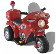 vidaXL Speelgoedmotor op batterijen (Rood)