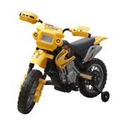 vidaXL Kinder motor Crosser elektrisch 6 volt geel