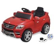 vidaXL Elektrische speelgoedauto Mercedes Benz ML350 rood 6 V