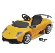 vidaXL Elektrische auto Lamborghini Murcielago LGO LP 670-4SV 6 V geel