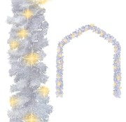 vidaXL Kerstslinger met LED-lampjes 5 m wit