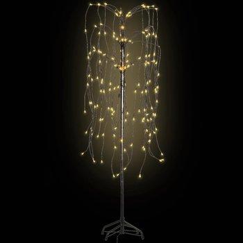 Kerstboom LED warm wit licht wilg 150 cm