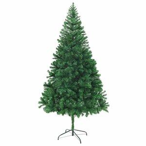 vidaXL Kunstkerstboom met dikke takken 210 cm