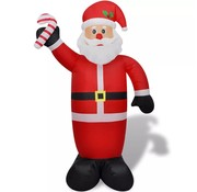 vidaXL Opblaasbare kerstman 240 cm