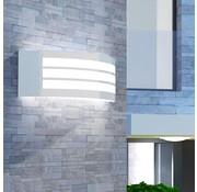 vidaXL Wandlamp buiten roestvrij staal