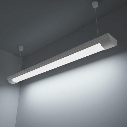 vidaXL LED verlichting koud wit licht 28 W incl. montageset