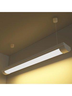 vidaXL LED verlichting warm wit licht 14 W incl. montageset