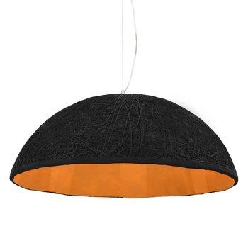 Hanglamp E27 Ø70 cm zwart en goud