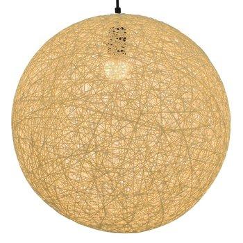 Hanglamp rond E27 45 cm crème