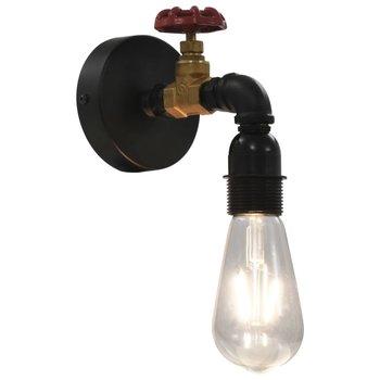 Wandlamp kraan-ontwerp E27 zwart