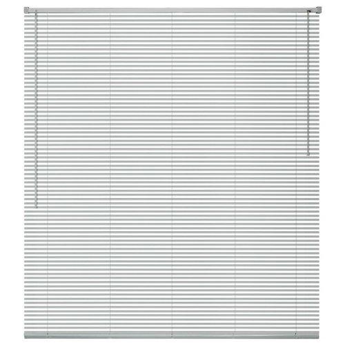 vidaXL Zonwering aluminium 60x160 cm zilverkleurig