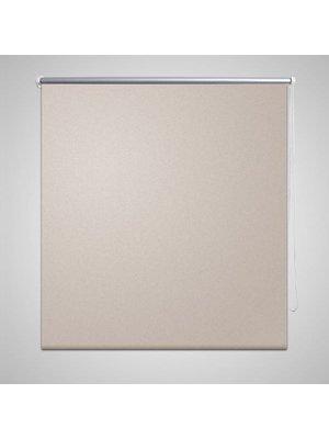 vidaXL Rolgordijn verduisterend 60 x 120 cm beige
