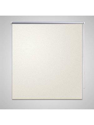 vidaXL Rolgordijn verduisterend 60x120 cm gebroken wit
