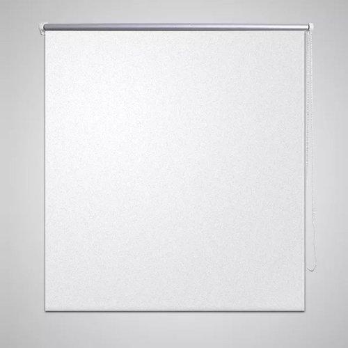 vidaXL Rolgordijn verduisterend 60 x 120 cm wit