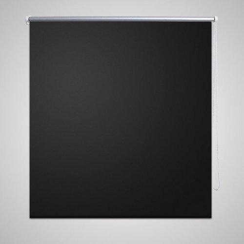 vidaXL Rolgordijn verduisterend 40 x 100 cm zwart
