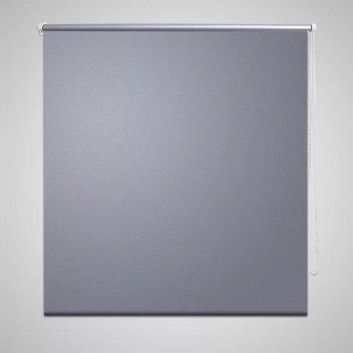 vidaXL Rolgordijn verduisterend 40x100 cm grijs