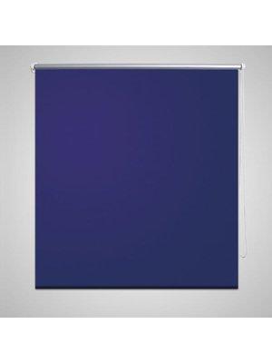 vidaXL Rolgordijn verduisterend 40 x 100 cm marine / blauw