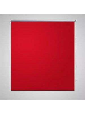 vidaXL Rolgordijn verduisterend 40 x 100 cm rood