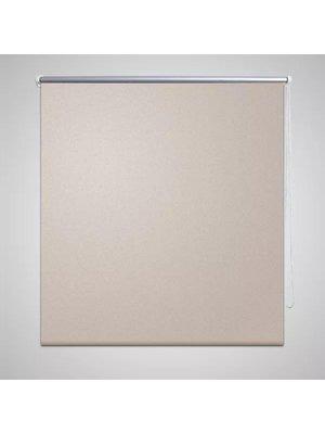 vidaXL Rolgordijn verduisterend 40 x 100 cm beige