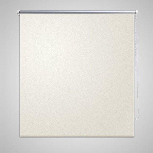 vidaXL Rolgordijn verduisterend 40 x 100 cm gebroken wit