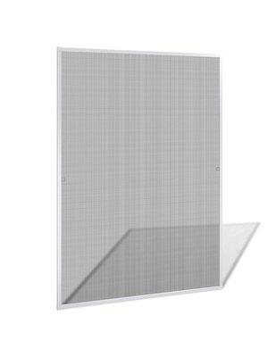vidaXL Raamhor wit 130 x 150 cm