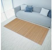 vidaXL Rechthoekige bamboe mat 80 x 200 cm (Bruin)