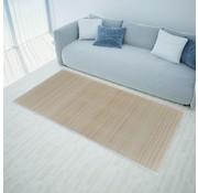 vidaXL Rechthoekige bamboe mat 80 x 200 cm (Neutraal)