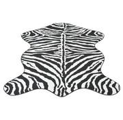 vidaXL Vloerkleed 70x110 cm zebra print