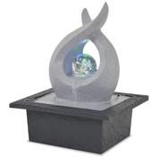 vidaXL Binnenfontein met LED-verlichting polyresin