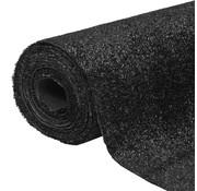 vidaXL Kunstgras 1x5 m/7-9 mm zwart