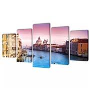 vidaXL Canvasdoeken Venetië 100 x 50 cm