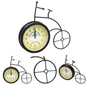vidaXL Tuinklok fiets vintage stijl