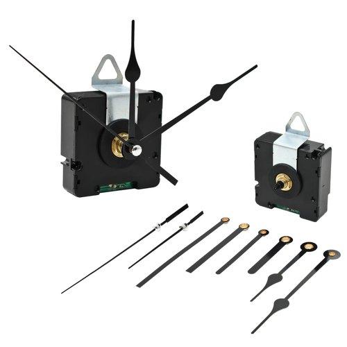 vidaXL Uurwerkmechanisme met wijzers quartz radiogestuurd