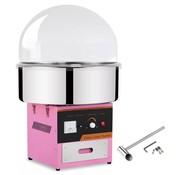 vidaXL Professionele suikerspinmachine met deksel 1 kW