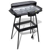 vidaXL Barbecue elektrisch staand rechthoekig